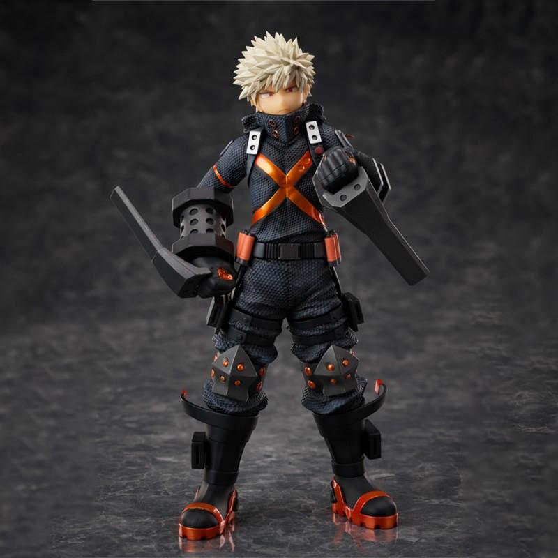 My Hero Academia World Heroes Mission Katsuki Bakugo Stealth Suit Ver 1 8 Complete Figure